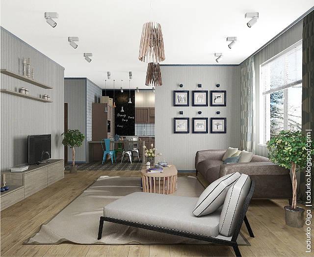 BIG HOUSE (дизайн - проект пентхауса)