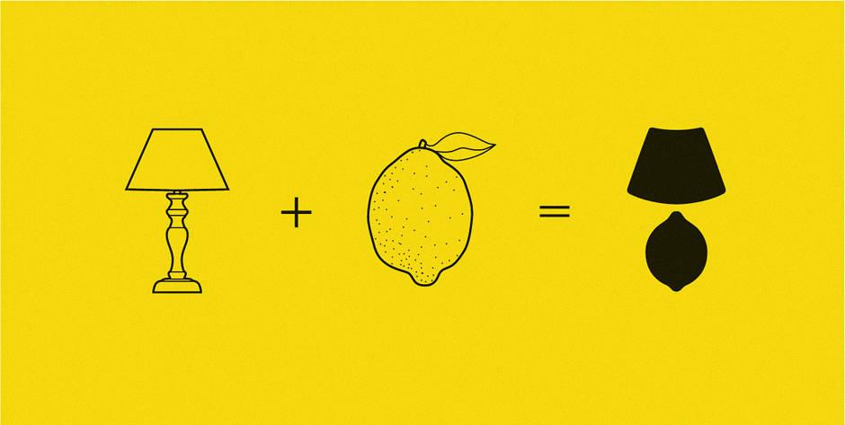 Абажур и лимон