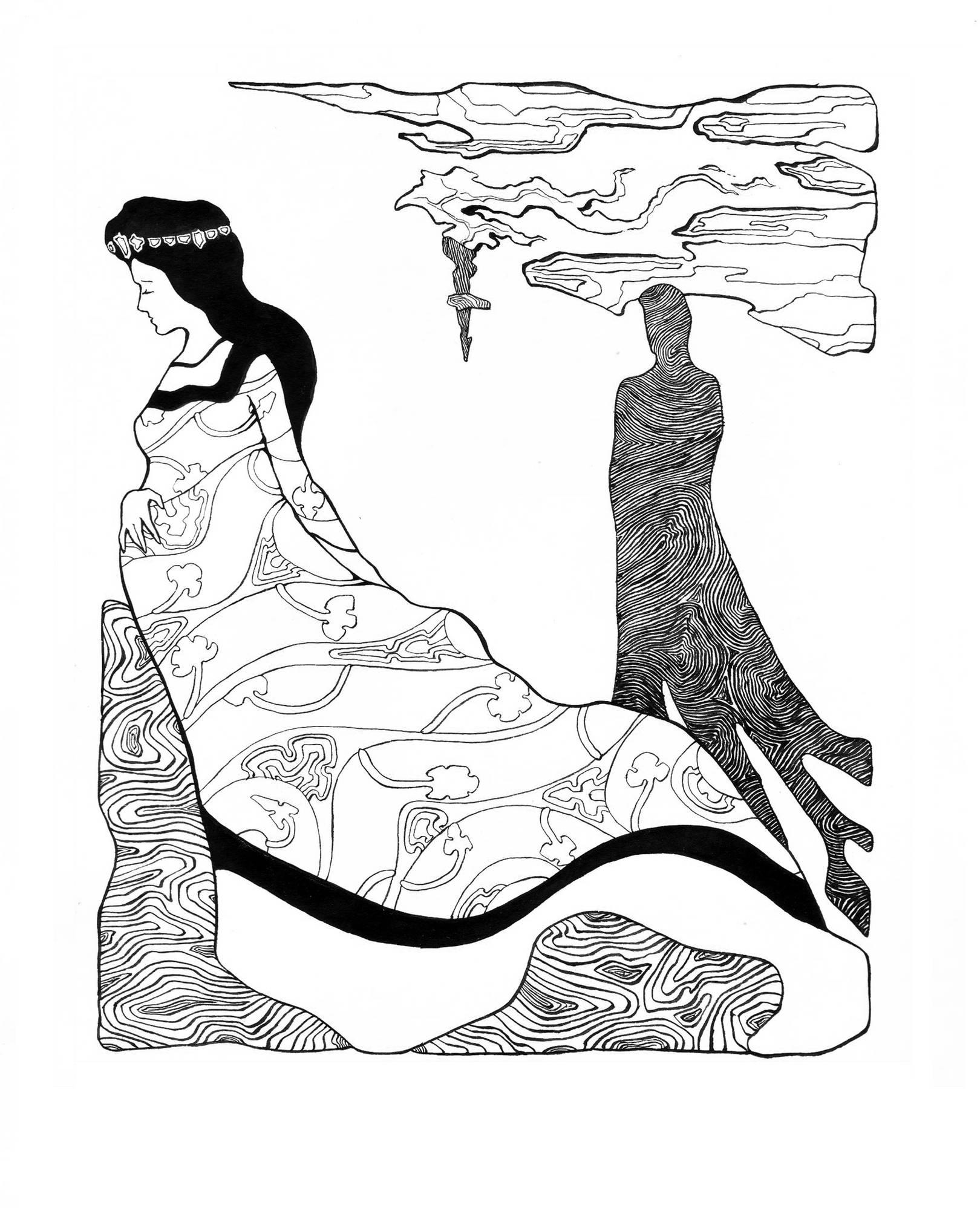 Королева и Маг