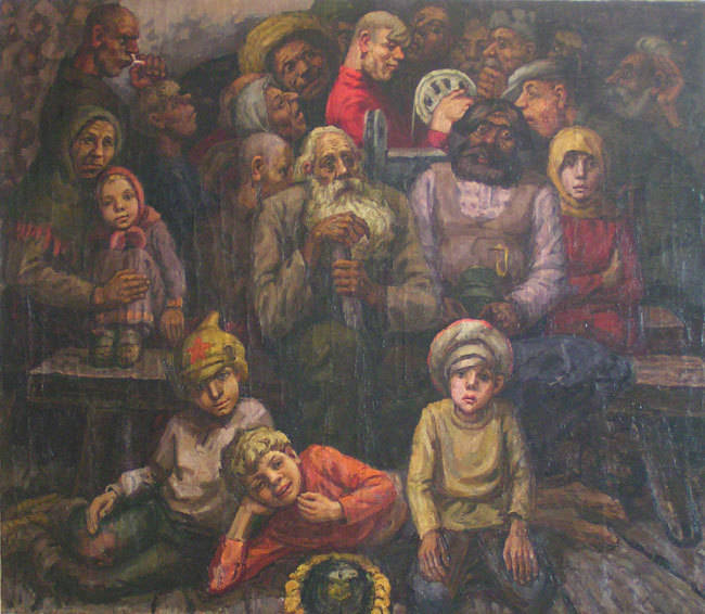 Валерий Сидоркин. Картина, портрет