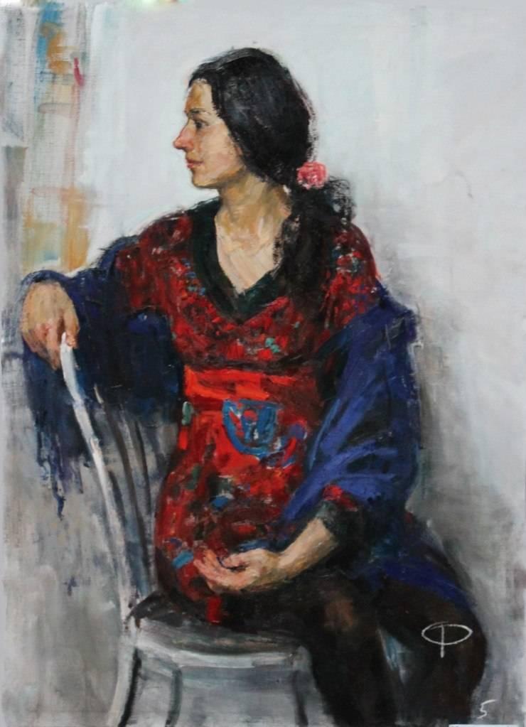 Портреты, росписи, графика