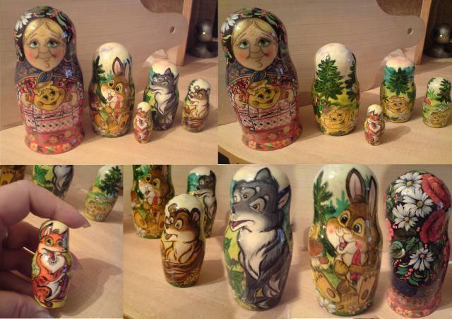 Matryoshka dolls for children-Матрешки для детей
