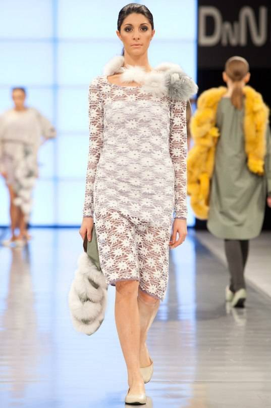 коллекция с мехом от Saga Furs