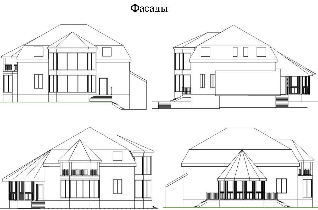 Жилой дом усадебного типа(коттедж)