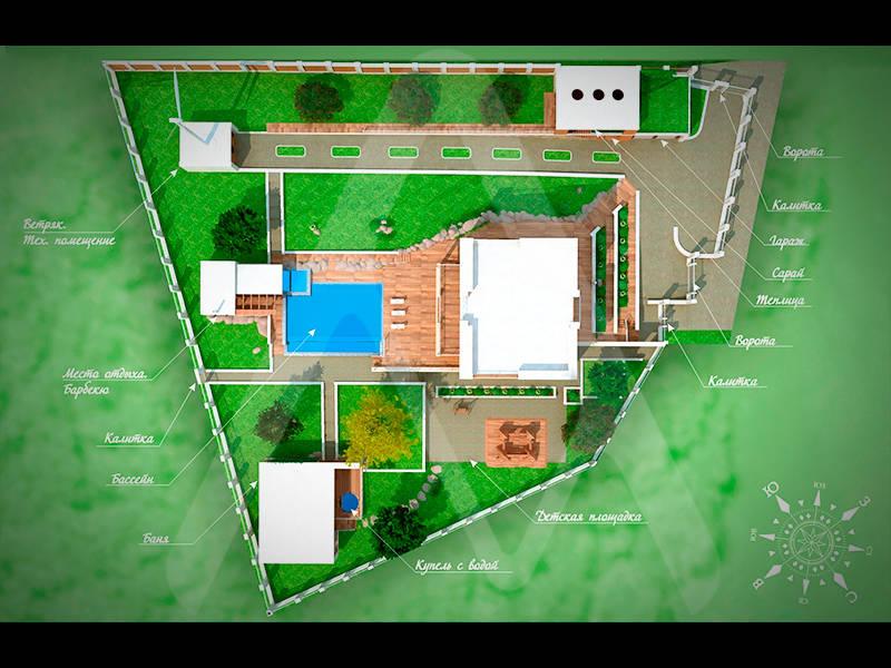 Архитектура и ландшафт.