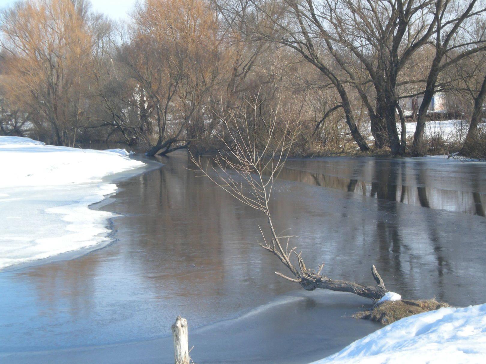 Зима на реке Камянка.