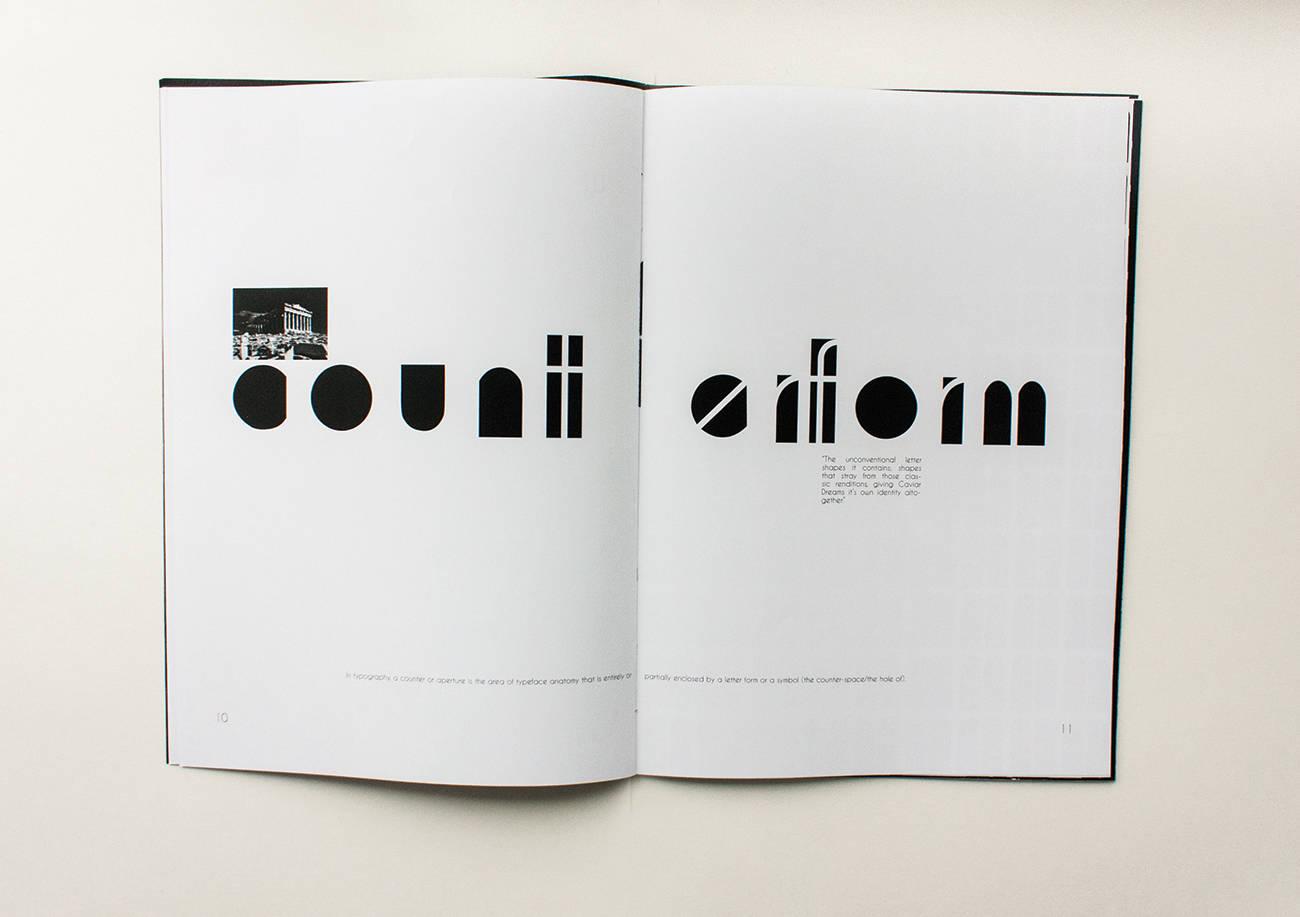 Буклет про шрифт