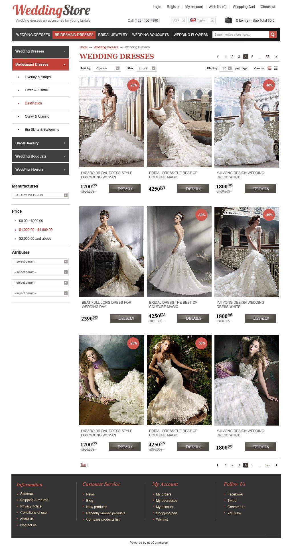 Интернет-магазин «WeddingStore»