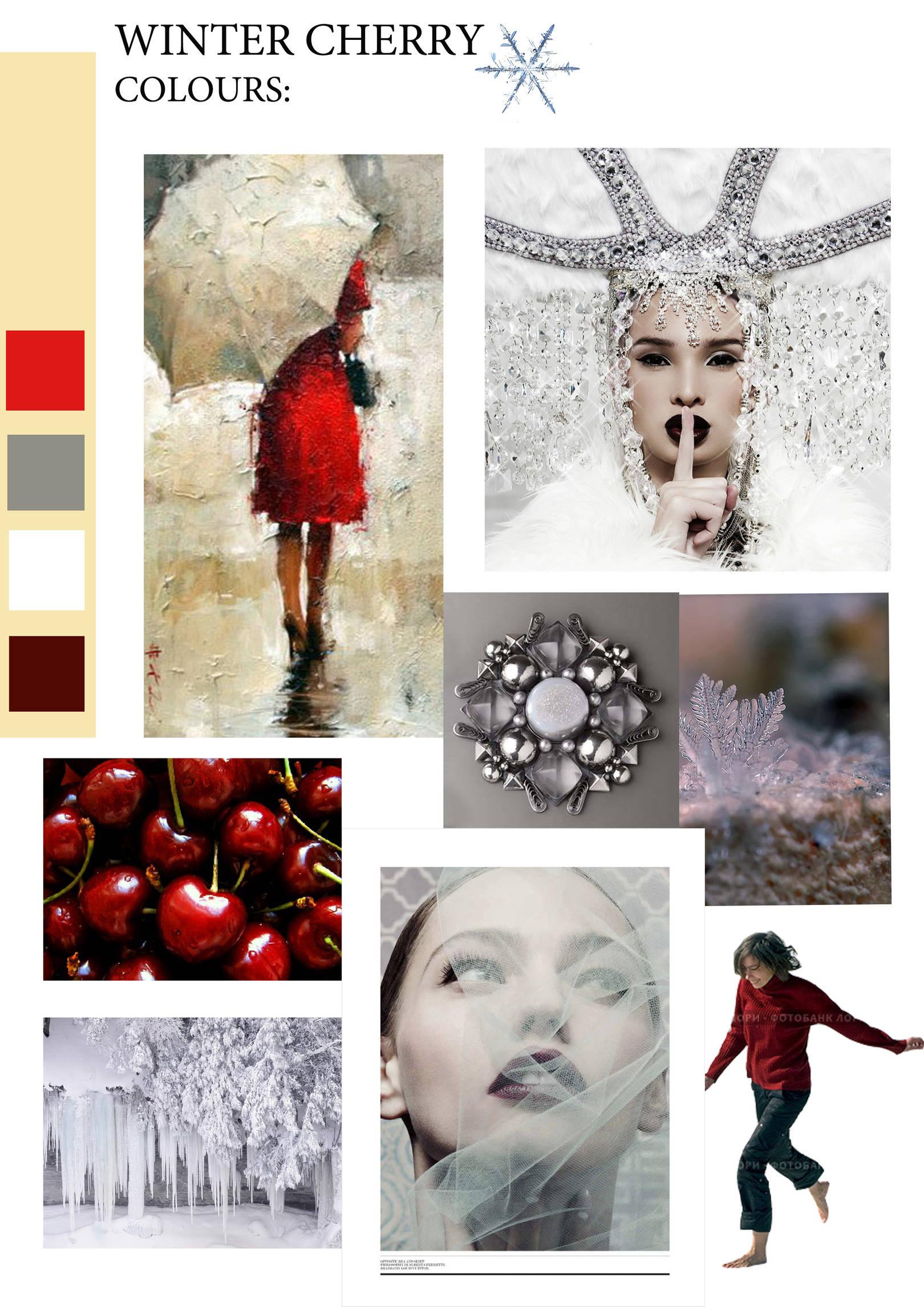 """Winter Cherry """"Зимняя вишня"""""""