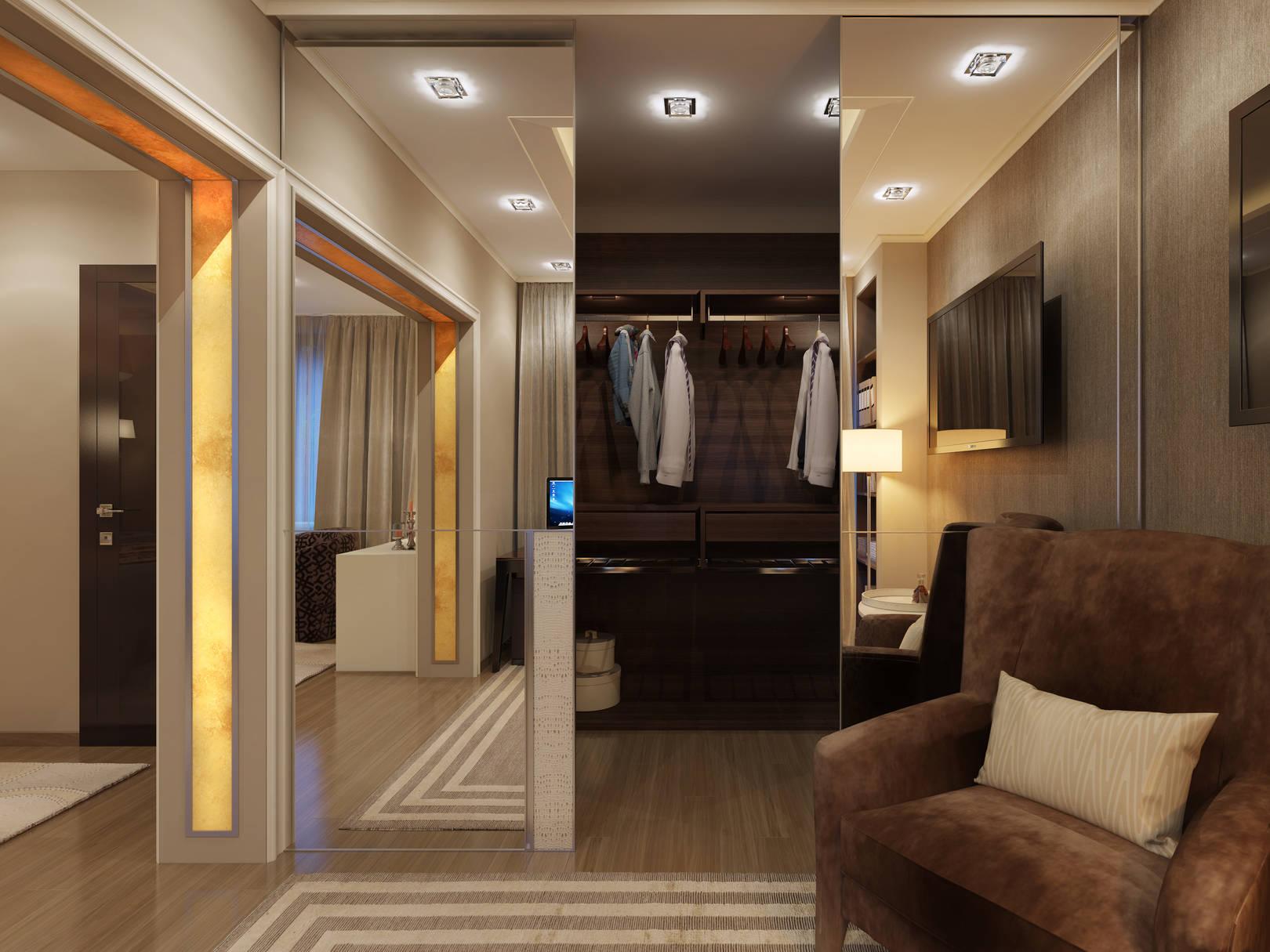 Спальня в танхаусе.
