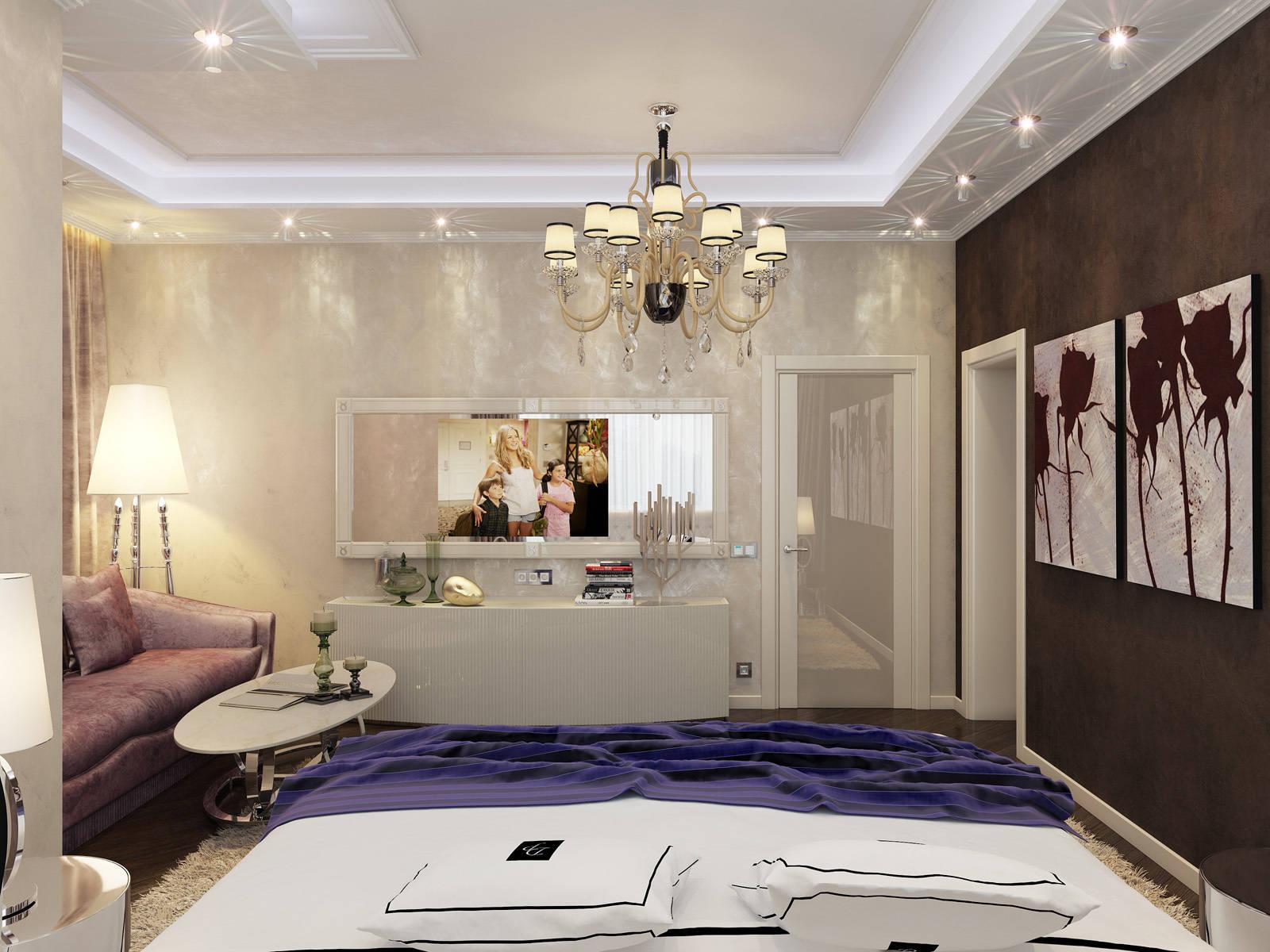 Спальня в доме. Чистые ключи.