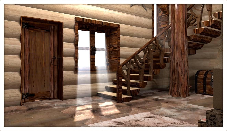 дом для викинга (шале)