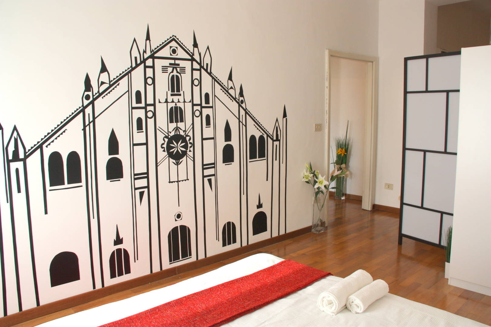Home decoration. Hand made wall stickers.