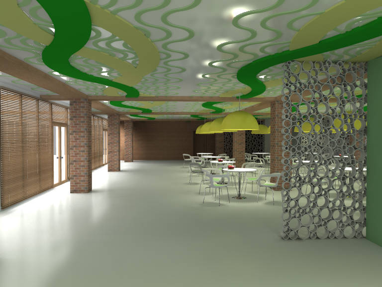 Концепт интерьера санатория