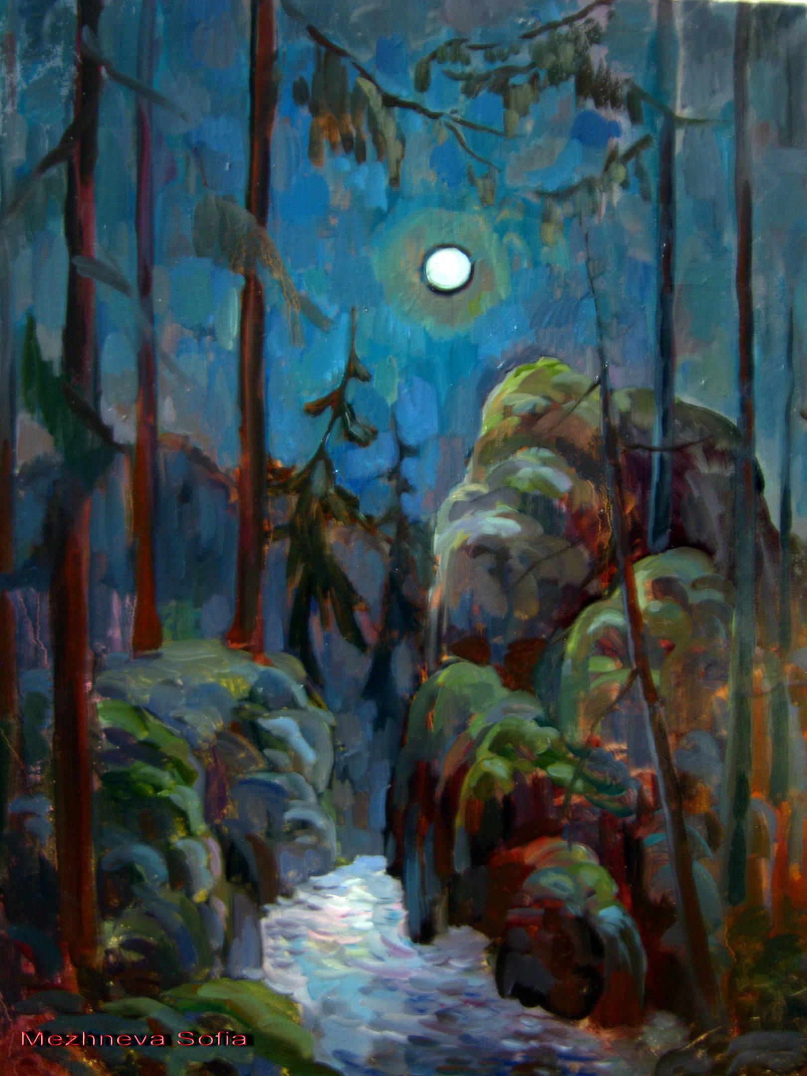 Мистические пейзажи