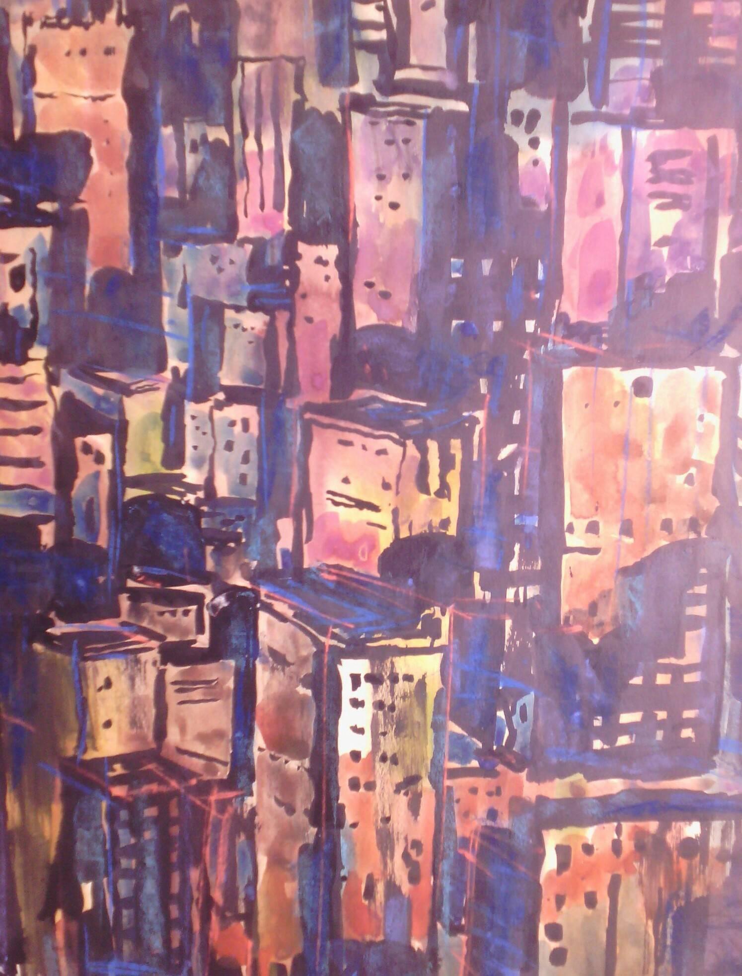 На Курган. Над Ларой.Святогорск.3) Святогорские туманы. В Нью-Йорке.
