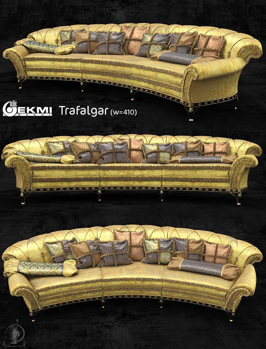 3d models of Ekmi Trafalgar series