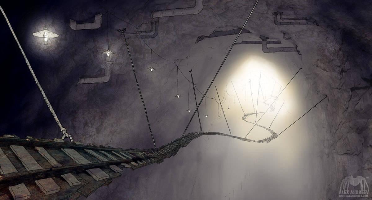 "Concept art to ""Ku! Kin-Dza-Dza!"""