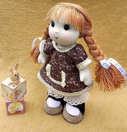 Авторские игрушки и куклы Юлии Ждановой.