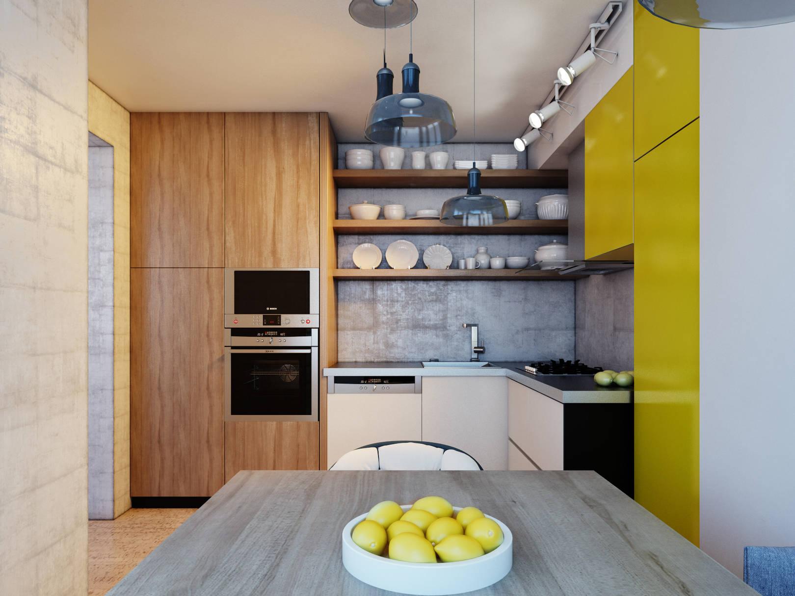 Colourful apartment