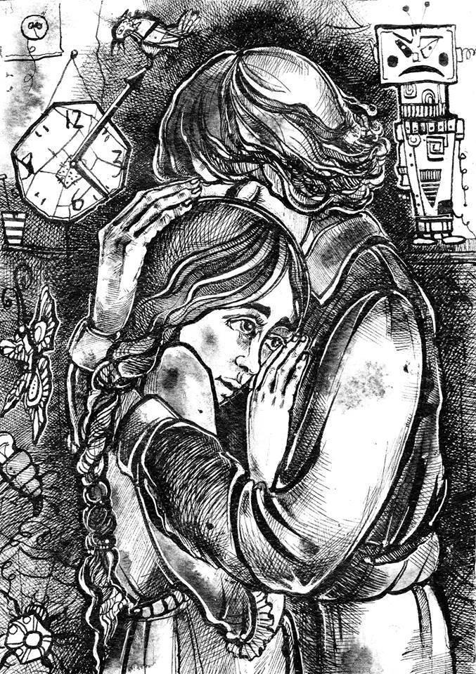 Иллюстрация к книге А. Краузе