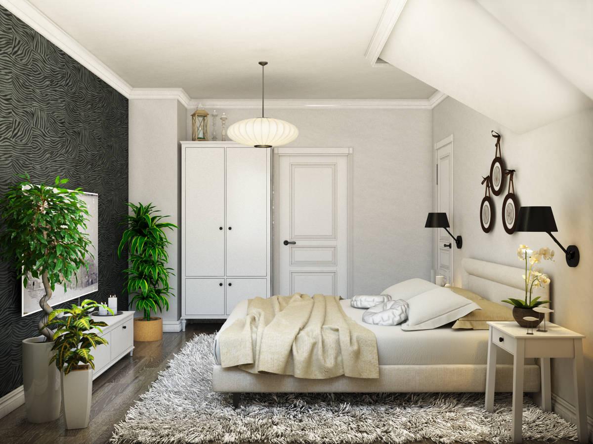 Интерьер с элементами скандинавского стиля
