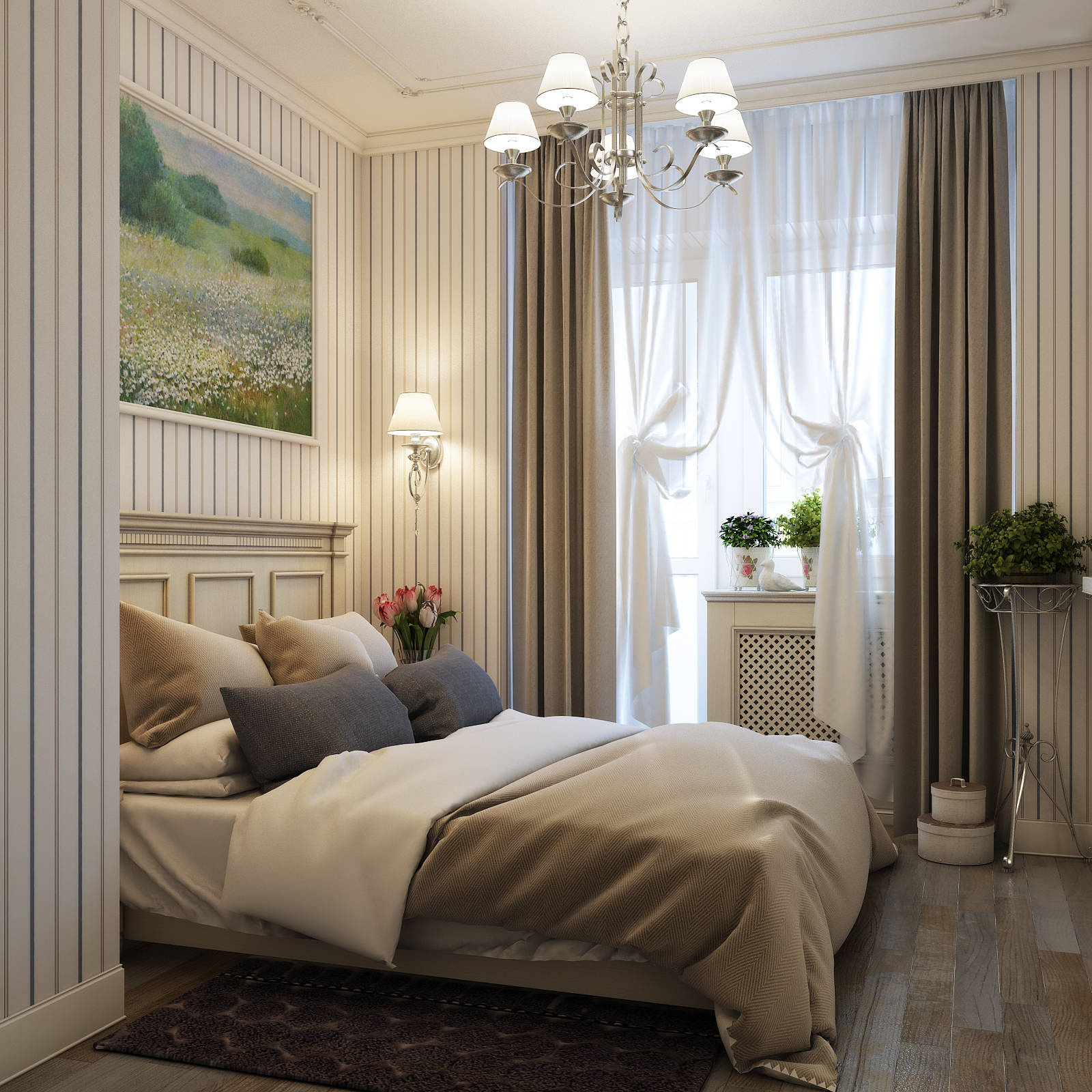 Квартира в стиле прованс