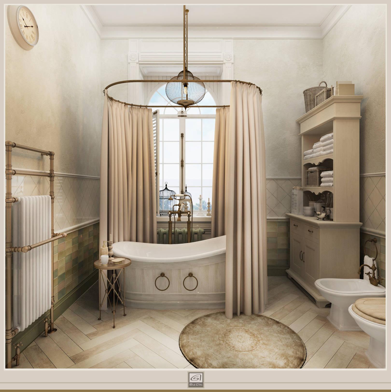 Квартира в стиле французской классики