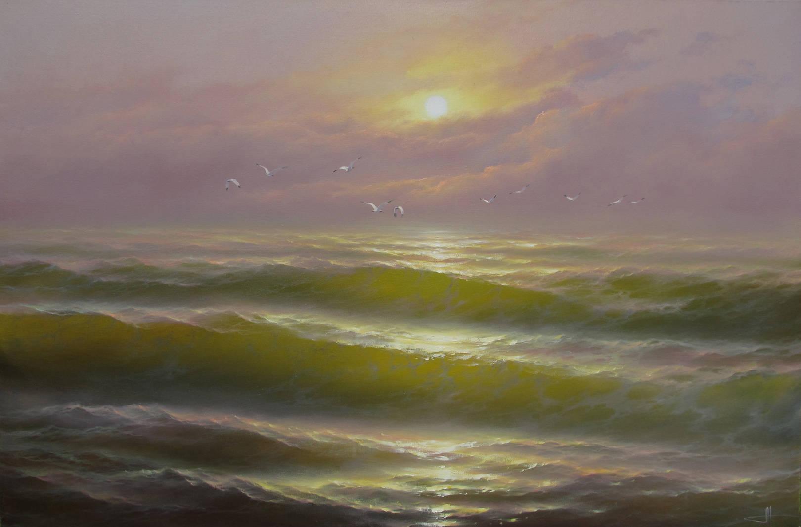 80х120 Шепот моря