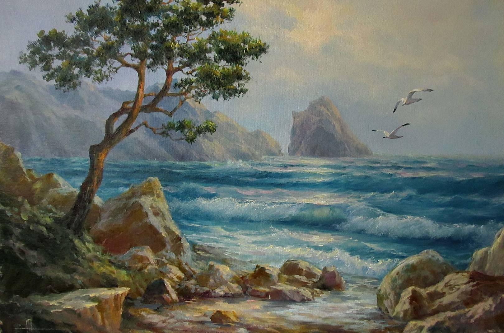 40х60 Крымский пейзаж