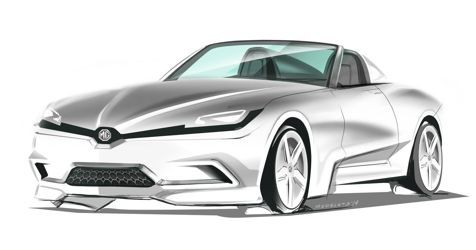 MG Roadster Sketch Fighter SPD 2014