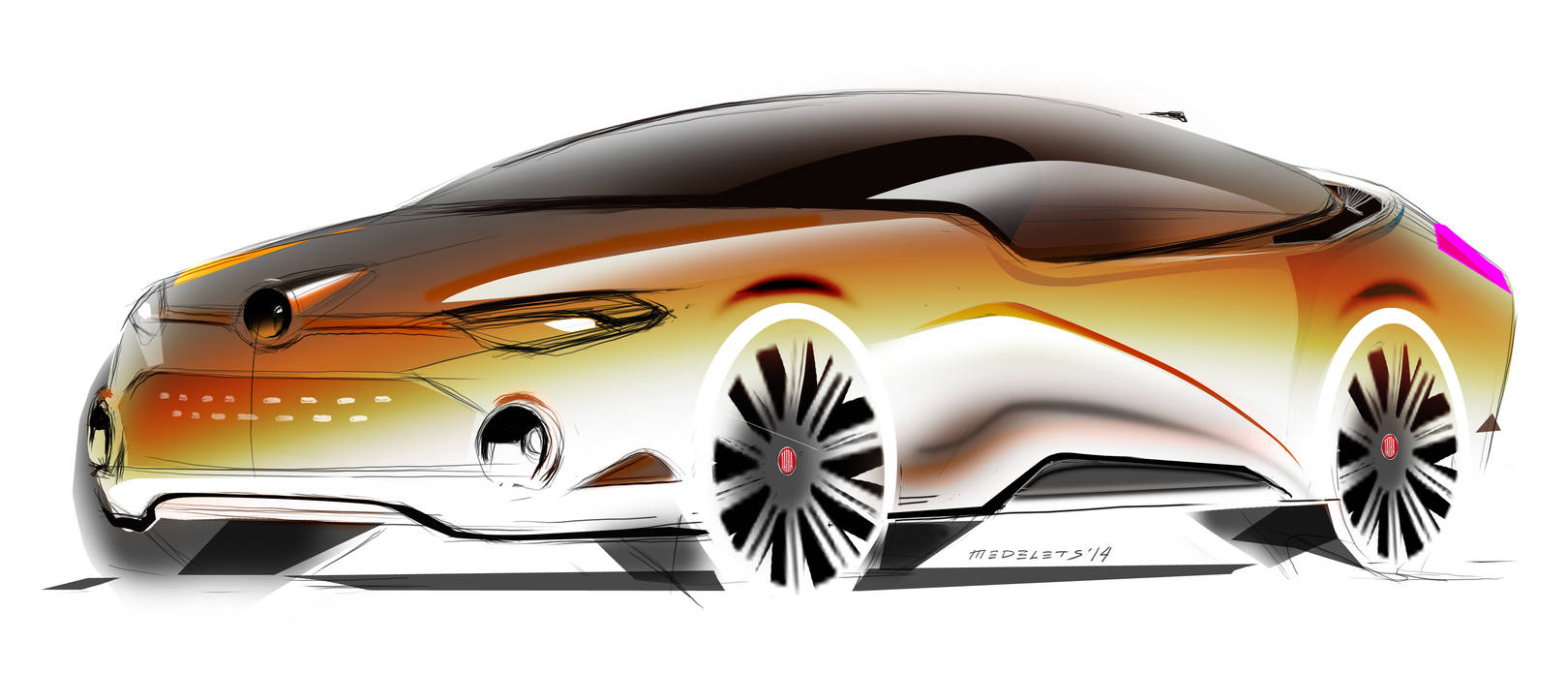 Tatra sedan Sketch Fighter SPD 2014