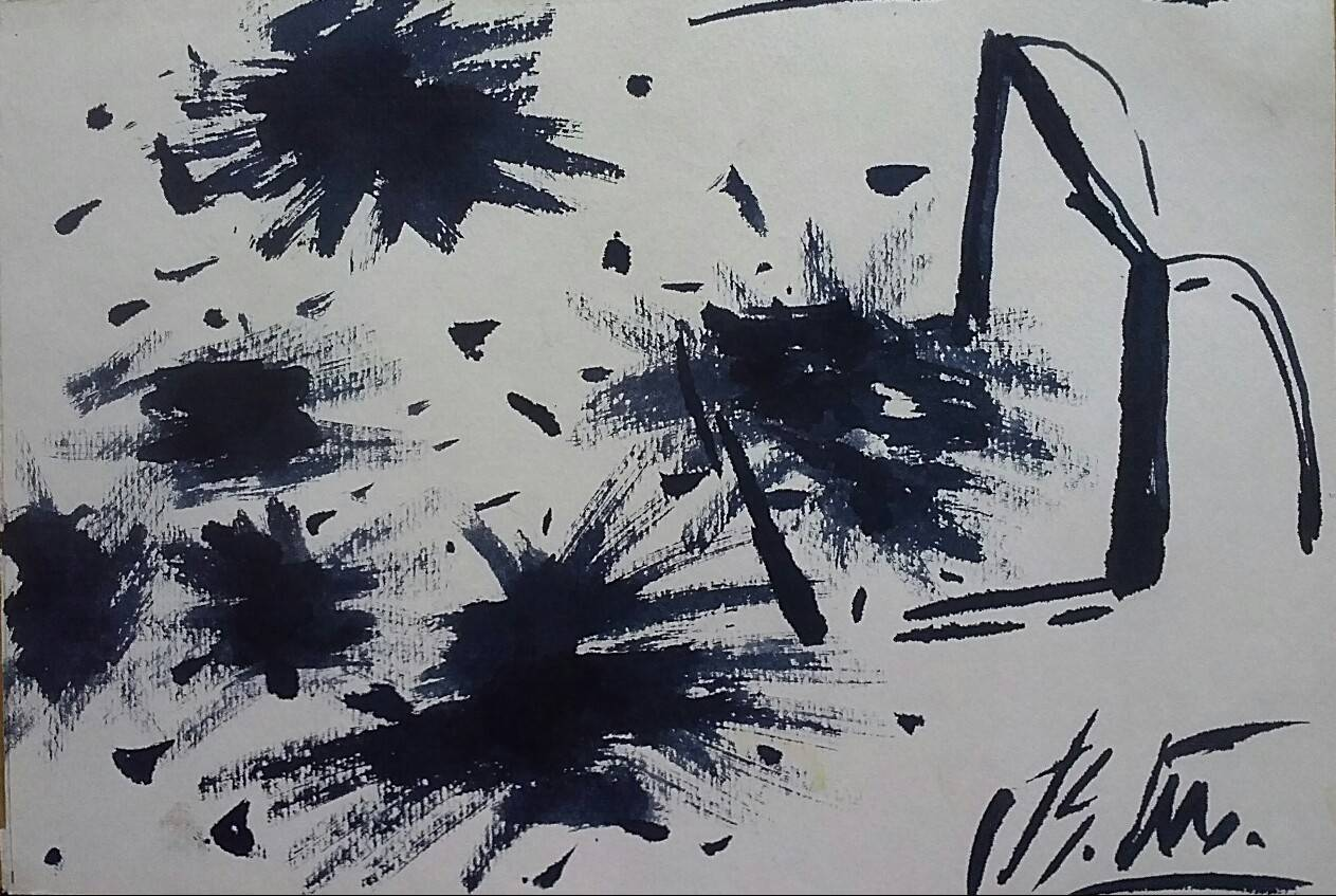 Славянск 2014г-зарисовки с натуры.