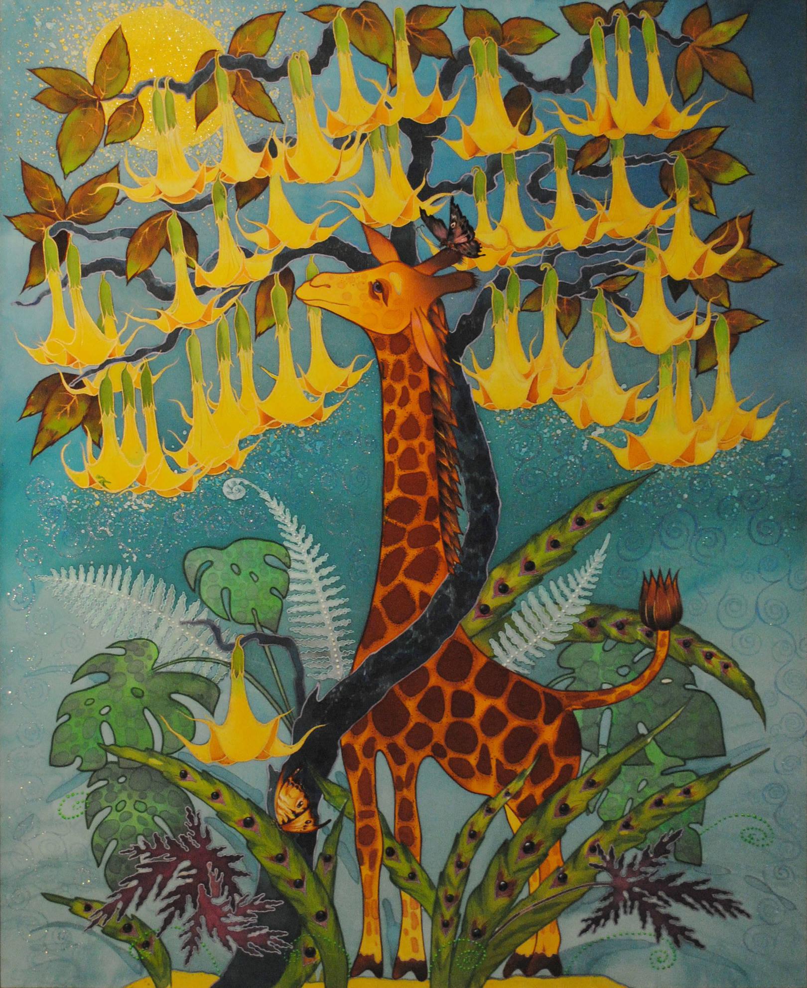 Солнечный жираф