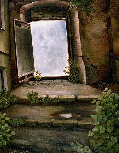 Дверь. холст/масло 55см x 67см, 2003 г.