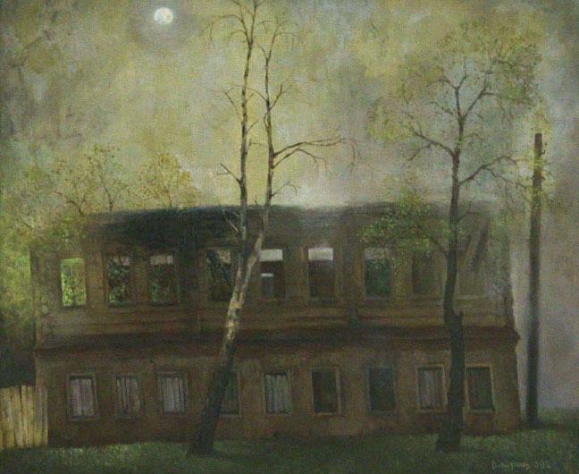 Дом А.Тарковского. холст/масло 72см x 90см 2002 г.