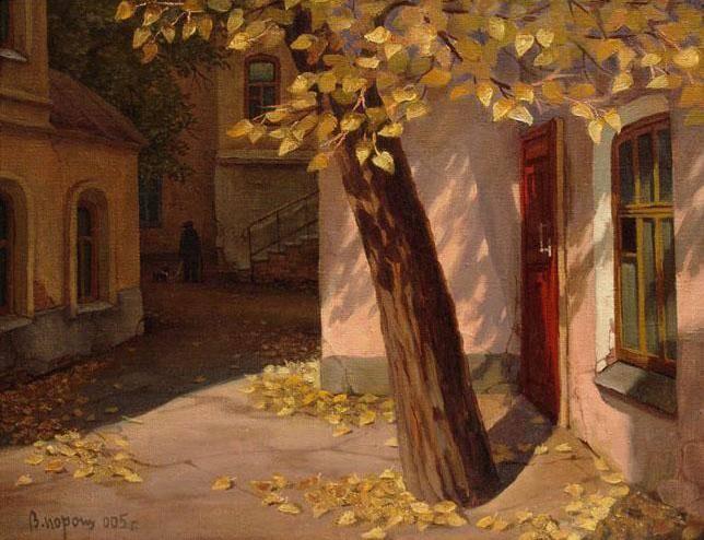 Осень. холст/масло 40см x 50см 1995 г.