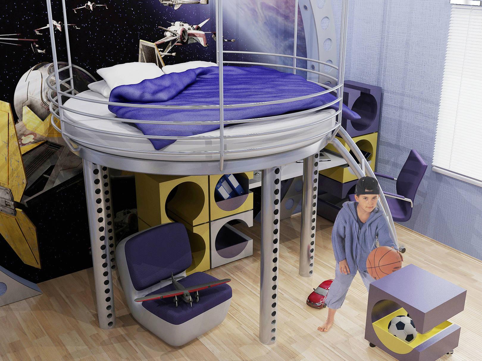 Концепт-проект детской комнаты