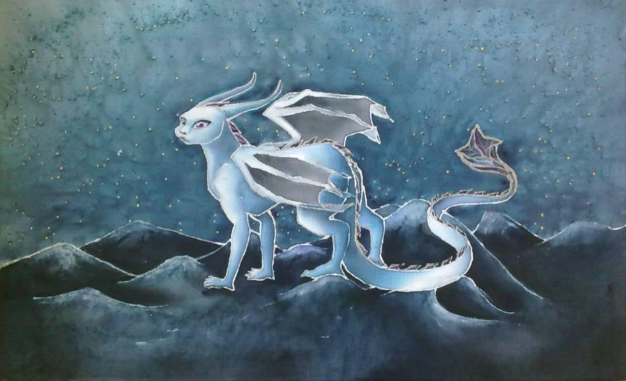 """""""Лунный дракон"""", 70х30см"""
