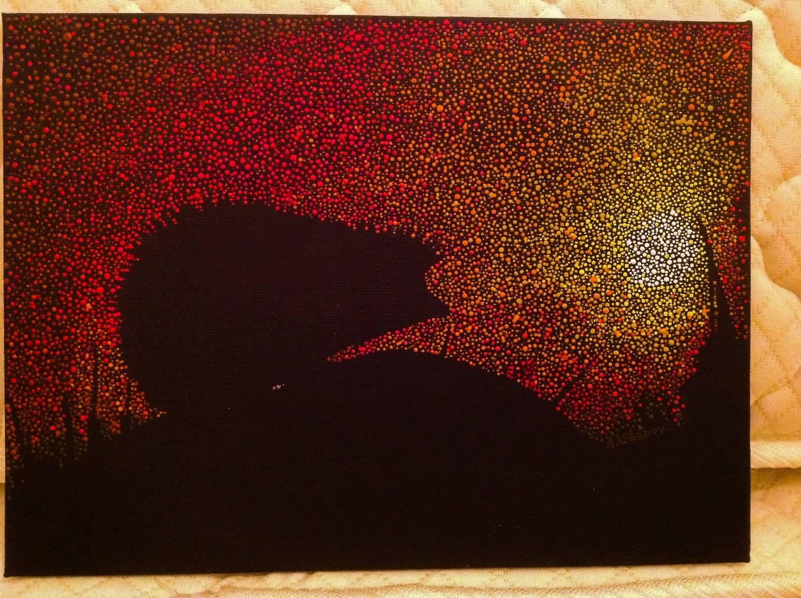 Painting (pointillism)