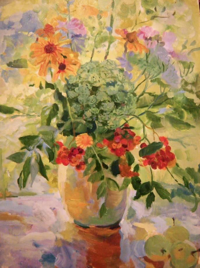 """""""Цветы и солнце"""" (продано)"""
