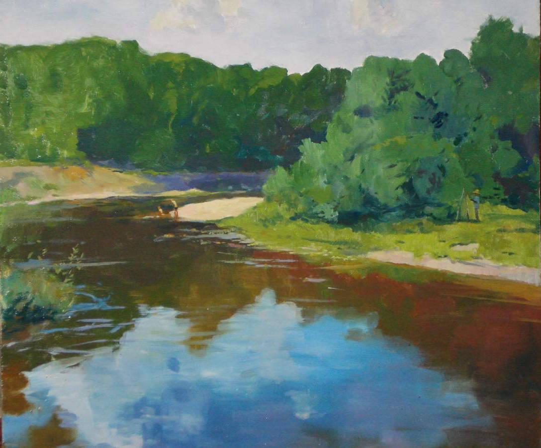 Река Снов, полдень