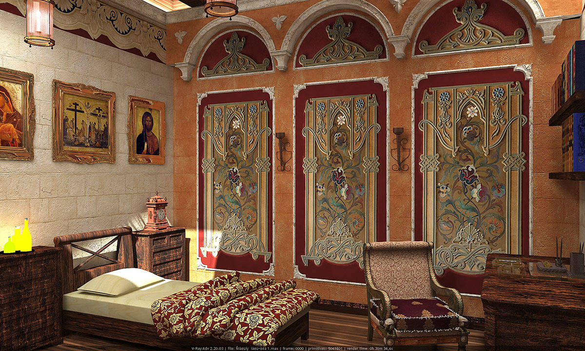 Византийский интерьер