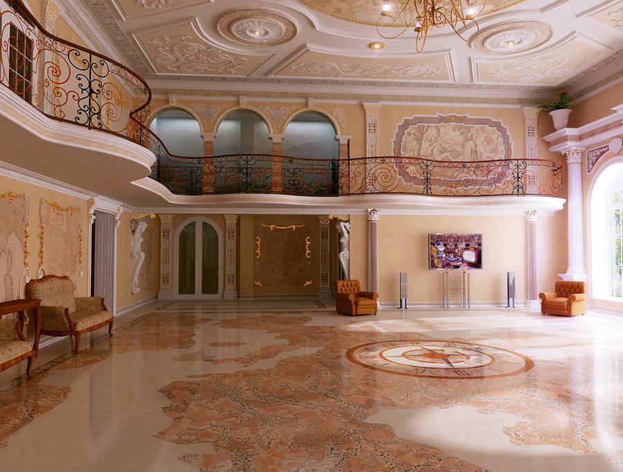 Зал в особняке