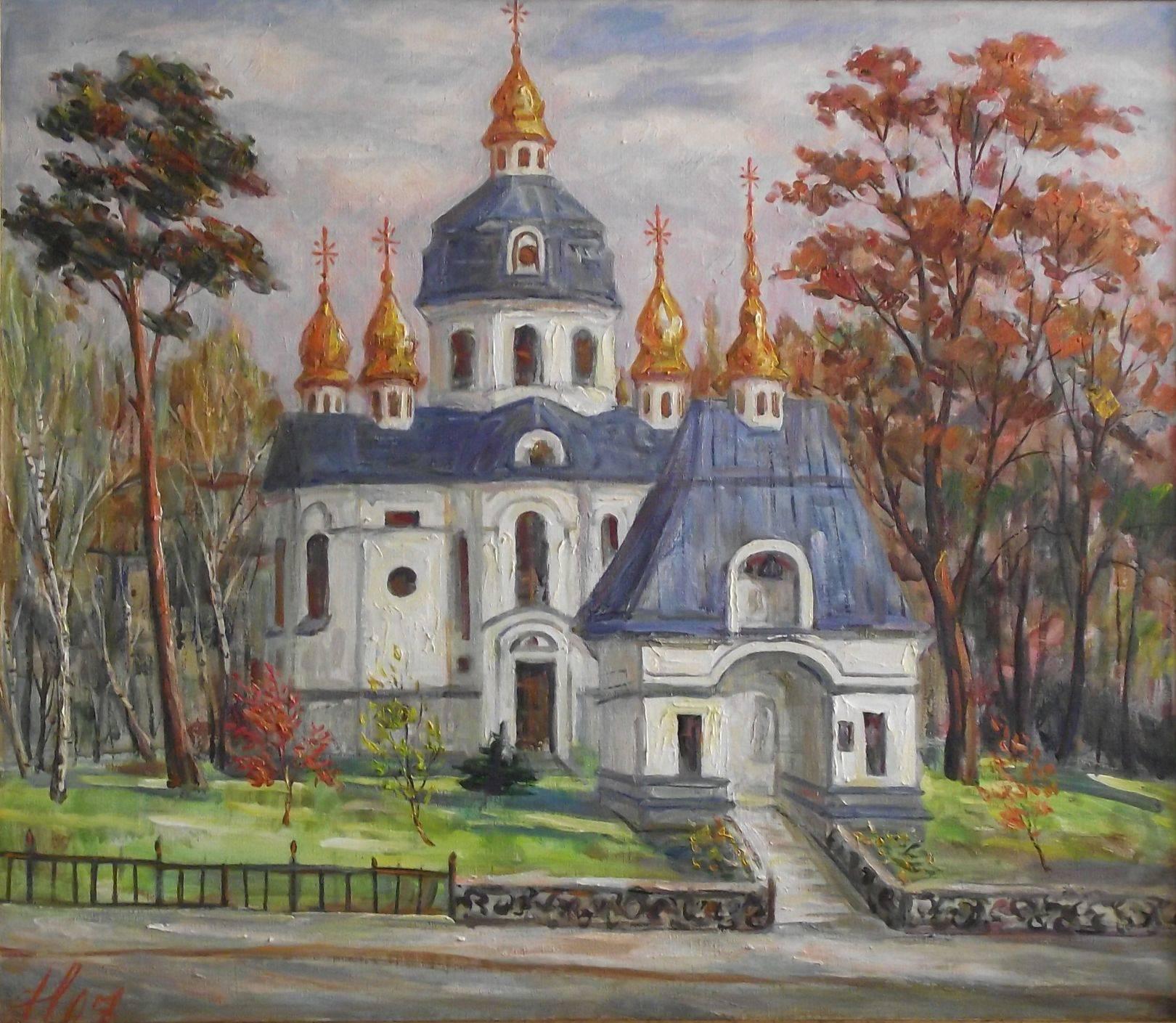 Св. Мих. церковь 2007г. 70*80