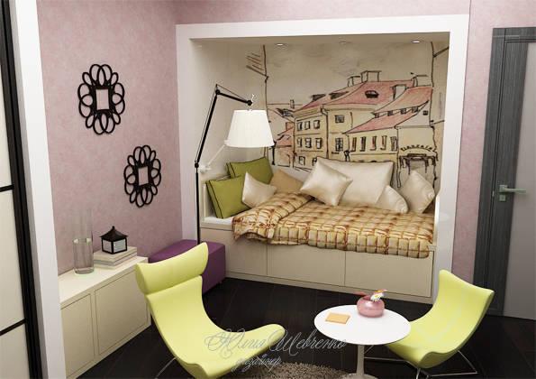 Дизайн проект интерьера 3-х комн.квартиры
