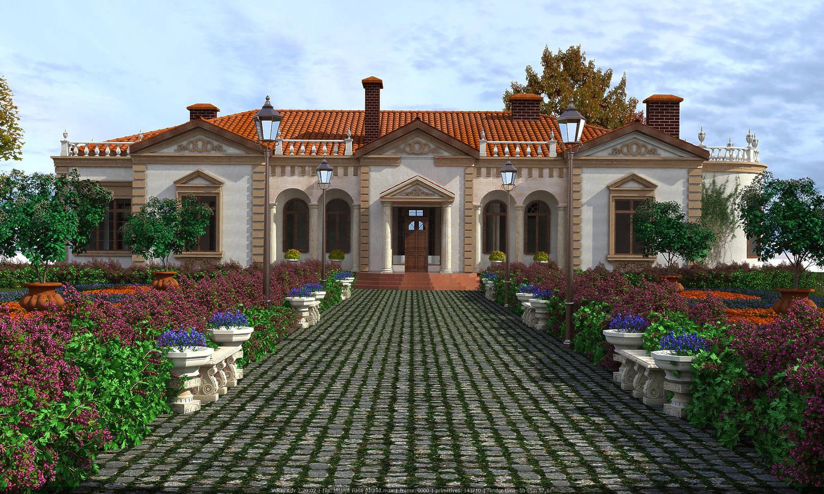 Фасад особняка