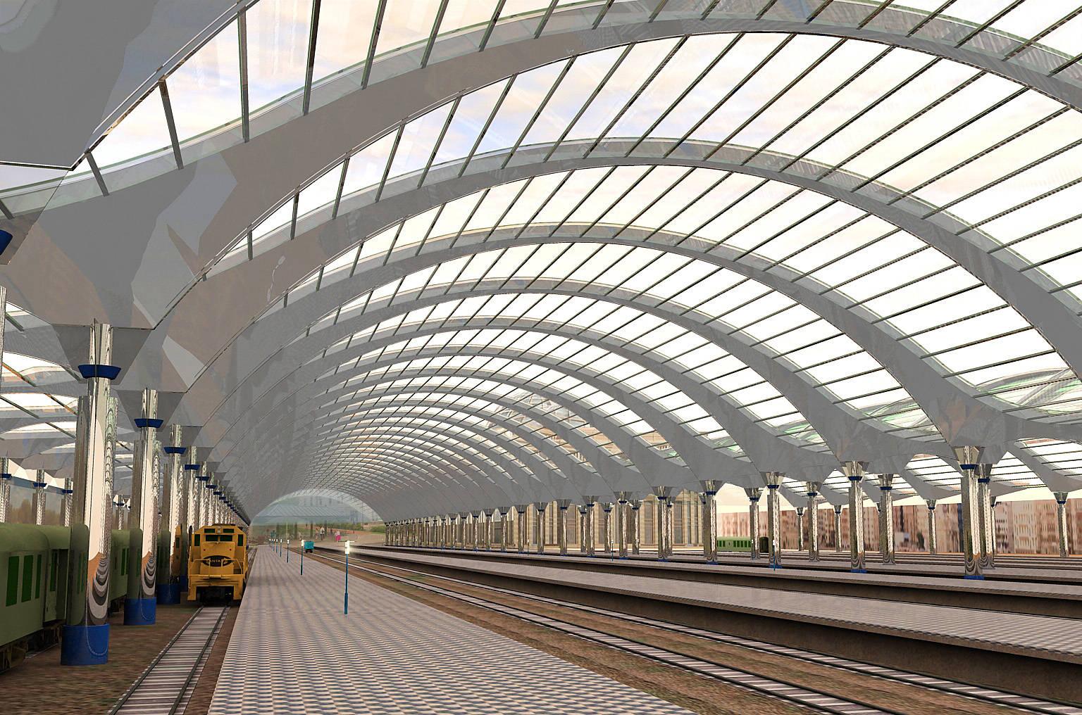 Накрытие вокзала