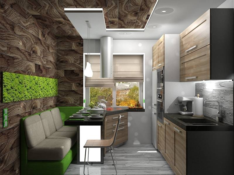 Интерьер Кухни от Дизайн Студии SanNa
