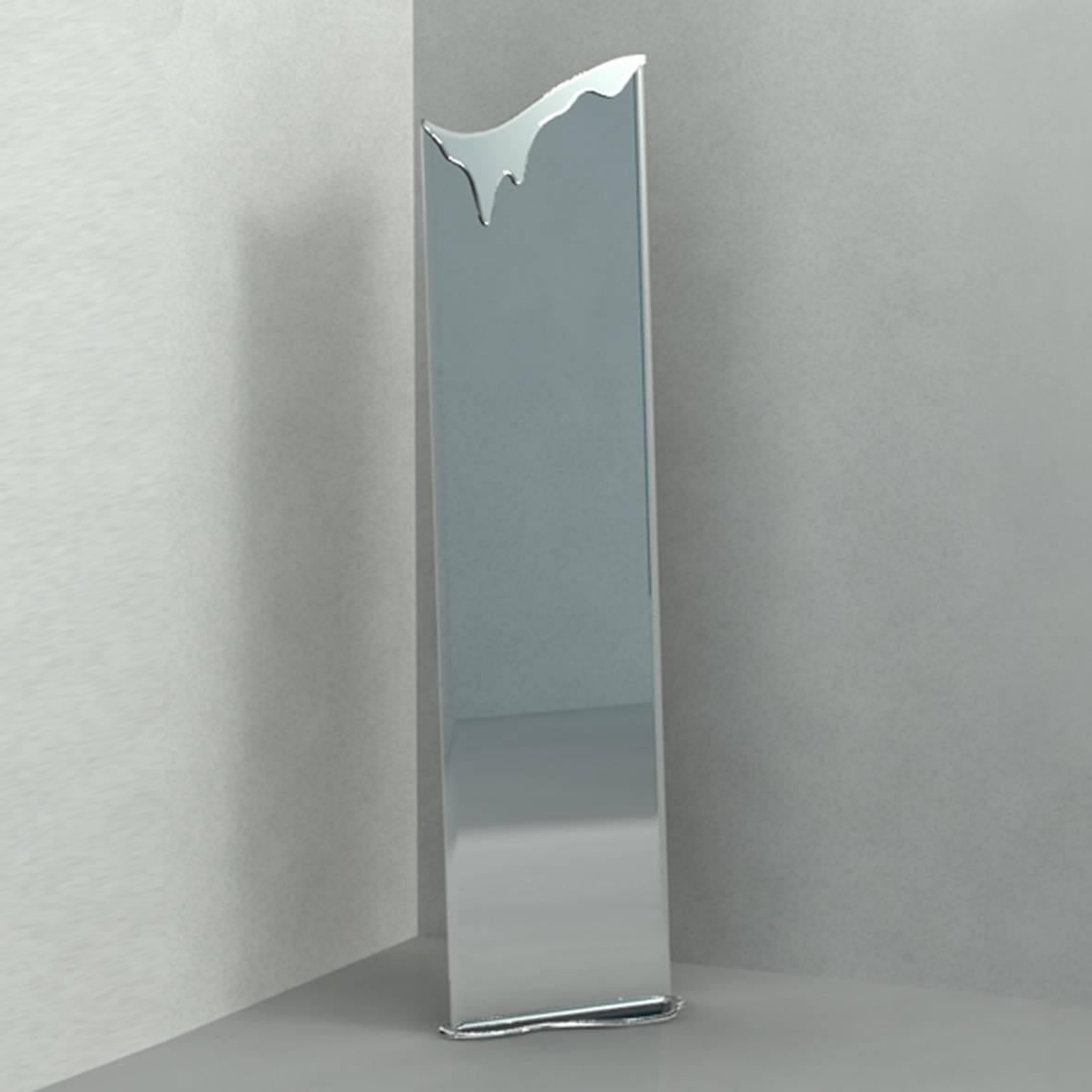 """Зеркало напольное """"Весна"""". Зеркальное полотно, металл."""